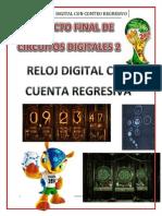 Proyecto Final Circuitos Digitales - Reloj Digital