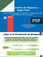 Prevencion de Riesgos en Apr Vii Region