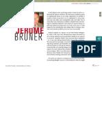Bruner 2010 - What Psychology Should Study