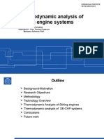 Presentation Thesis Thermodynamic Analysis of Stirling engine Systems