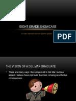 8th grade showcase