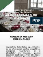 Bazele Restauratie Clasa a IX A