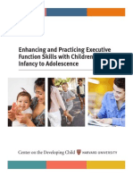 Enhancing and Practicing Executive Function Skills With Children From Infancy to Adolescence