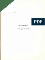 Cronología (Jose Mª. Sole Mariño)