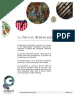 Public Domain Charter - FR