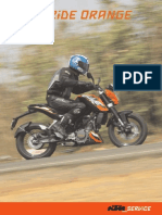 KTM Motorcycle India Tour Master