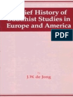 de Jong - 1998 - A Brief History of Buddhist Studies in Europe and .pdf