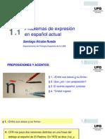 Problemas de Expresión en Español Actual (25-21)