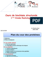 Cours Proteine 03-12-2