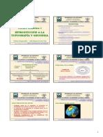 Unidad Didactica 1 Introducción a la topografía y a la geodesia