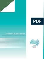 Dental Guidelines on Dental Records