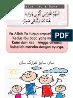 Doa Kedua Ibu Bapa