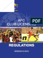 Club Licensing Regulations 2010