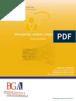 Guia de Aprendizaje Descripcion Analisis y Argumento