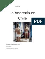 La Anorexia En Chile