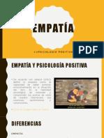 Empatía y psicología positiva