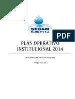 Plan Operativo Institucional 2014