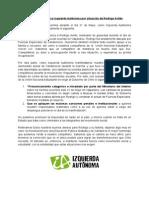 Comunicado público IA por situación Rodrigo Avilés