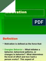 Topic 8 Motivation