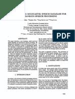Speech processing research paper 22