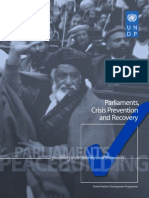 Guidelines on the Role of Parliaments in Conflict and Post-Conflict Situations
