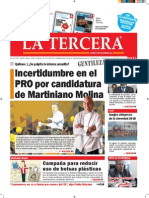 Diario La Tercera 22.05.2015