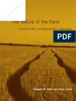 The Nature of the Farm - Contracts, Risk, And Organization in Agriculture