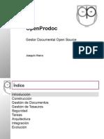Presentacion Openprodoc