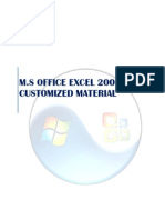 Excel 2007 Training Materaial [Customized]