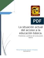 La Educacion Basica en Meico