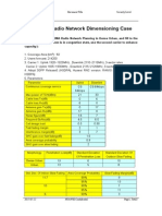 WCDMA Radio Network Dimensioning Practice for Student (a)