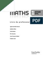 Mathématiques 1res STI2DSTL