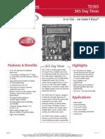 Rutherford TD365 Data Sheet