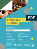Actividades Para Secundarios 2015