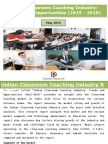 Indian Classroom Coaching Industry