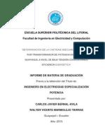 DETERMINACIÓN DE LA CANTIDAD ADECUADA DE USUARIOS POR TRANSFORMADOR DE POTENCIA EN ZONAS DE GUAYAQUIL A NIVEL DE BAJA TENSIÓN CONSIDERANDO EFICIENCIA ENERGÉTICA