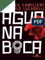 Agua Na Boca - Andrea Camilleri