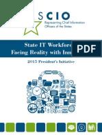 State IT Workforce Survey 2015