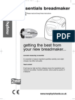 Fastbake Breadmaker Instructions and Recipes