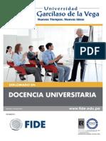 Docencia Universitaria_29 de Marzo