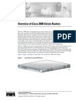 Overview of Cisco 2800