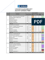 Matriz Curricular Engenhariamecanica Unileste