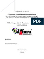 Diagnostic Financiar Dafora Mediaș