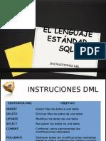003-2 El Lenguaje Estandar SQL - Instrucciones Dml (Completo)
