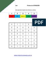 Bateria Estimulacion Cognitiva Sigue El Patrón de Números y Colores 4
