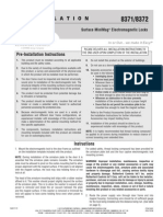 Rutherford 8371-DSSSCS-40 Instruction Manual
