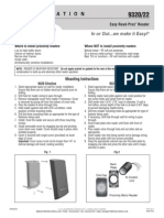 Rutherford 9320-BLACK Instruction Manual