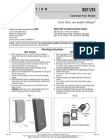 Rutherford 9321SPB Instruction Manual
