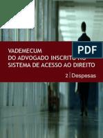 VADEMECUM DAS DESPESAS NO SADT