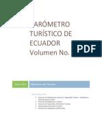 Barometro Turistico Ecuador Vol1